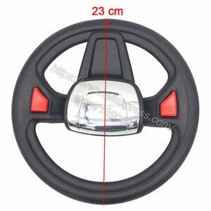 Image 4 - Children electric car steering wheel HC 8188 kids electric vehicle steering wheel, Karting steering wheel