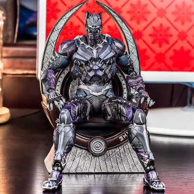 NEW 17cm-22cm-28cm Avengers Infinity War Black Panther Wakanda Throne Action Figure Toys Doll Christmas Gift