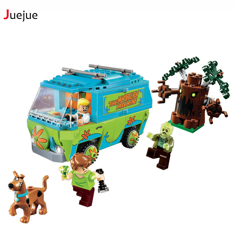 305 Pcs Bela 10430 The Mystery Machine Bus Building Block Figure Toys Bricks Toys Children Compatible with Lepin Kid Toys Gifts 2017 enlighten city bus building block sets bricks toys gift for children compatible with lepin
