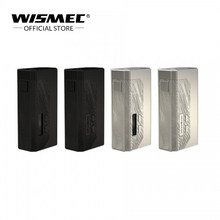 [IN STOCK]Original Wismec LUXOTIC MF Box kit with 7ml squonk bottle squonk mod electronic cigarette vape mod box by 186500/21700(China)