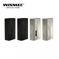 [IN STOCK]Original Wismec LUXOTIC MF Box kit with 7ml squonk bottle squonk mod electronic cigarette vape mod box by 186500/21700