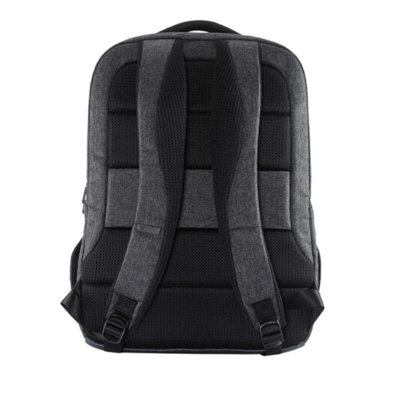 Simple Patchwork de gran capacidad para hombre mochila de cuero para viaje Casual mochila para hombre mochila de viaje de cuero - 3