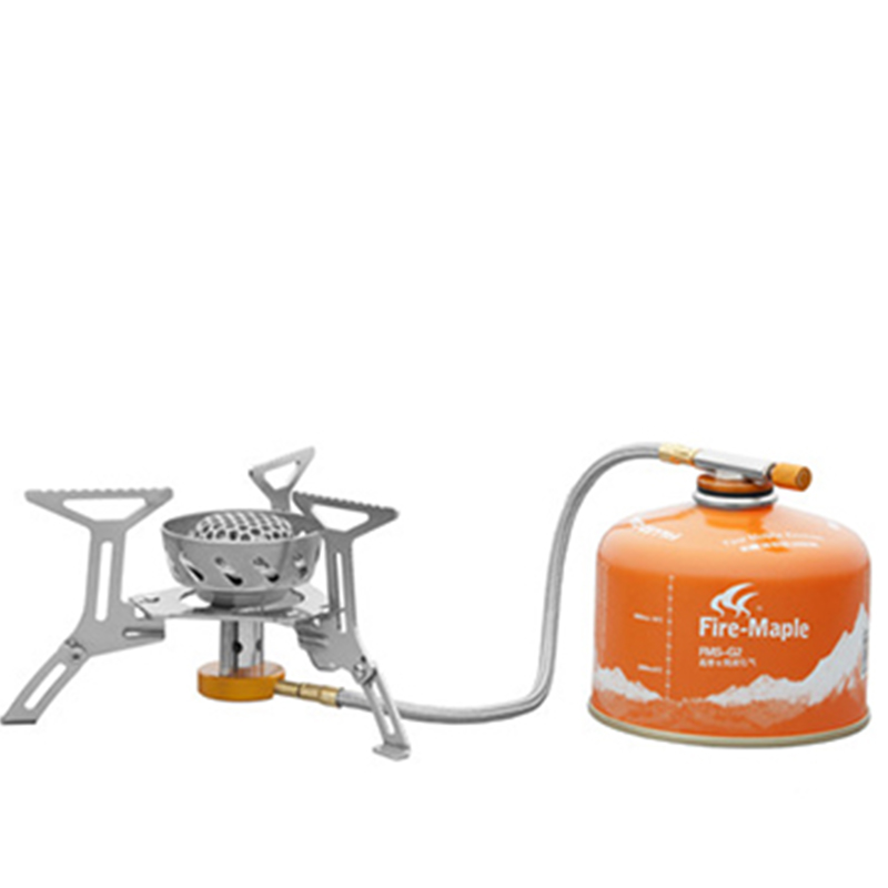 Hot Sale Fire Maple Camping Gas Stove Windproof Stainless Steel Outdoor Cooking Stove Outdoor Camping Hiking
