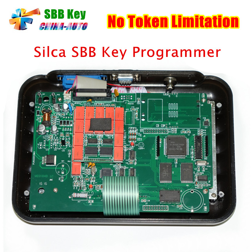 ФОТО 2016 Hot-Selling SBB Auto Key Programmer Newest V33.02 Silca sbb key programmer with Multi-language