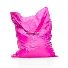 PINK Color outdoor bean bag chair — home furniture — beanbag sofa beds