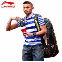 Lindan Lining Badminton Rackets Bag 2015 New Genuine 6/9 Racquets Load Badminton Bag Li ning ABJJ096/ABJJ088 Backpack