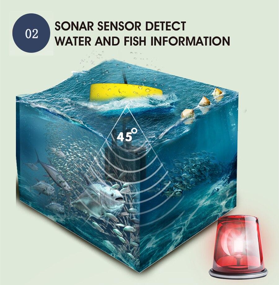 FFC1108 1 Alarme Pesca 100 m Sonar