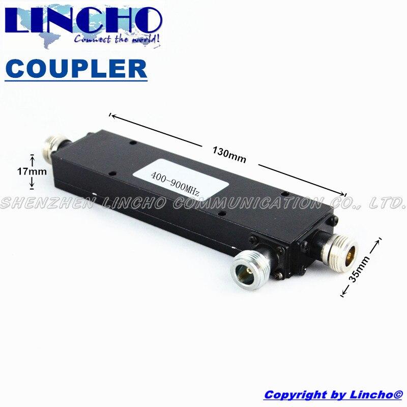 imágenes para 2 Vías acoplador de antena 7dB 450 MHz, 400-900 MHz UHF radio de dos vías divisor de la energía, para CDMA 450 mhz repetidor