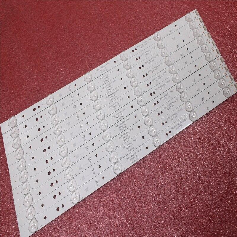 Led Backlight For 49E3000 49E6000 49E360E/5ERS 5800-W49001-1P00 5800-W49001-0P00 5850-W50007-1P00 5800-W49001-DP00 480MM 6 Leds