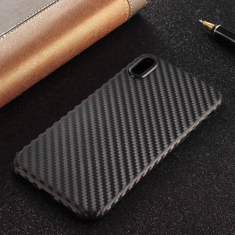 Case for iphone x xs Carbon Fiber PP material Protect phone cover capa for iphone x case funda coque Good quality