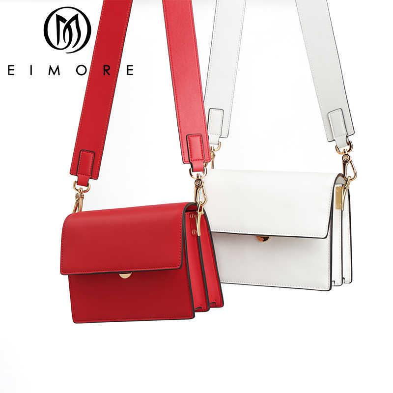 EIMORE сумки женская сумка 2019 кожаная роскошная сумка через плечо для женщин дизайнерская женская сумка на плечо женская сумка-мессенджер