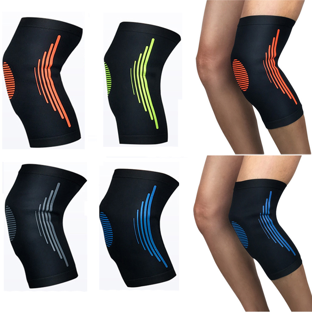 Sports Elastic Compression Knee Pad Protectors Outdoor Running Protective Gear LFSPR0015