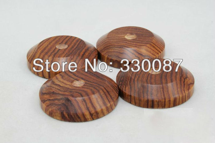 Free shipping HD2 middle Ebony isolation speaker feet 33mm *8mm