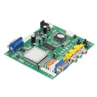 GBS8200/HD9800 RCA To VGA Video Decoding Adapter Converter HD Conversion Board For CRT/ LCD /PDP Projector