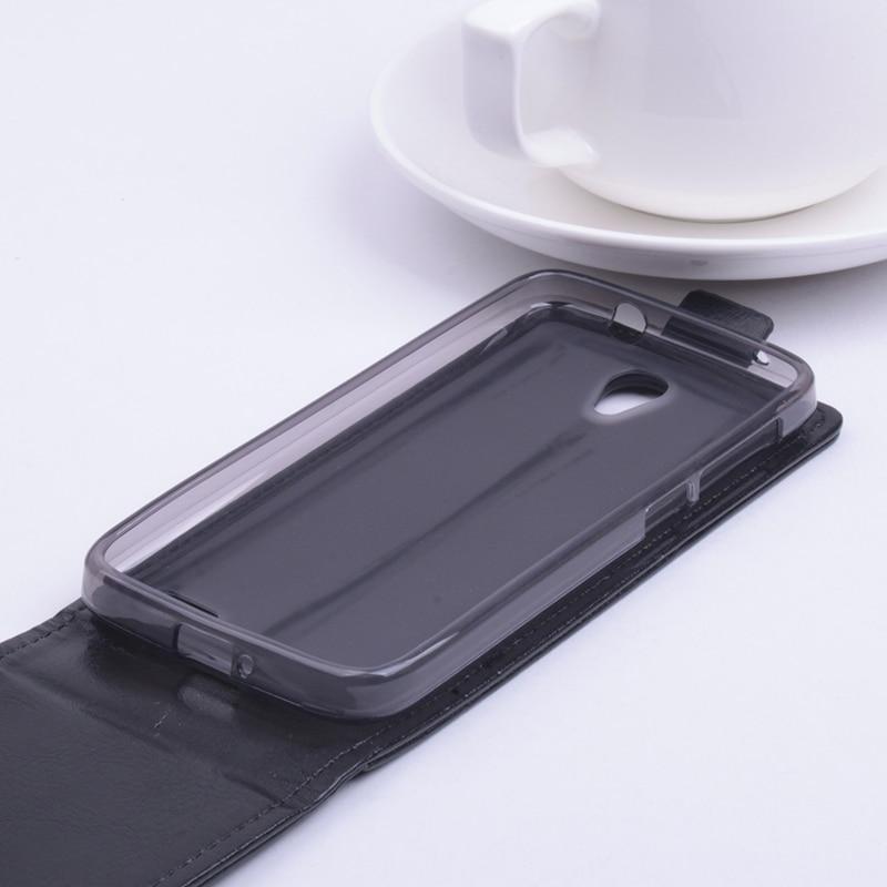 Luxury Balik Kulit Tutup Kasus untuk Alcatel One Touch Pop 2 Pop2 M5 - Aksesori dan suku cadang ponsel - Foto 2
