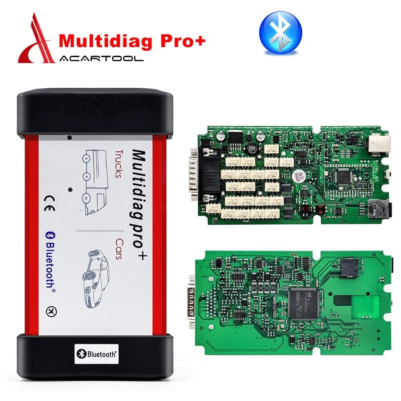 Цена за Лучшее Качество 2014.3 программное обеспечение Multidiag pro tcs cdp плюс pro Один зеленый ПЕЧАТНОЙ Платы с Bluetooth Бесплатная доставка