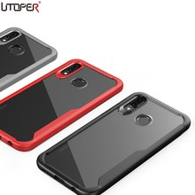 UTOPER Shockproof Cases For Huawei P20 Lite Case Cover For Honor Play Case Transparent Back Cover For Huawei Mate 10 Pro Nova 3e(China)