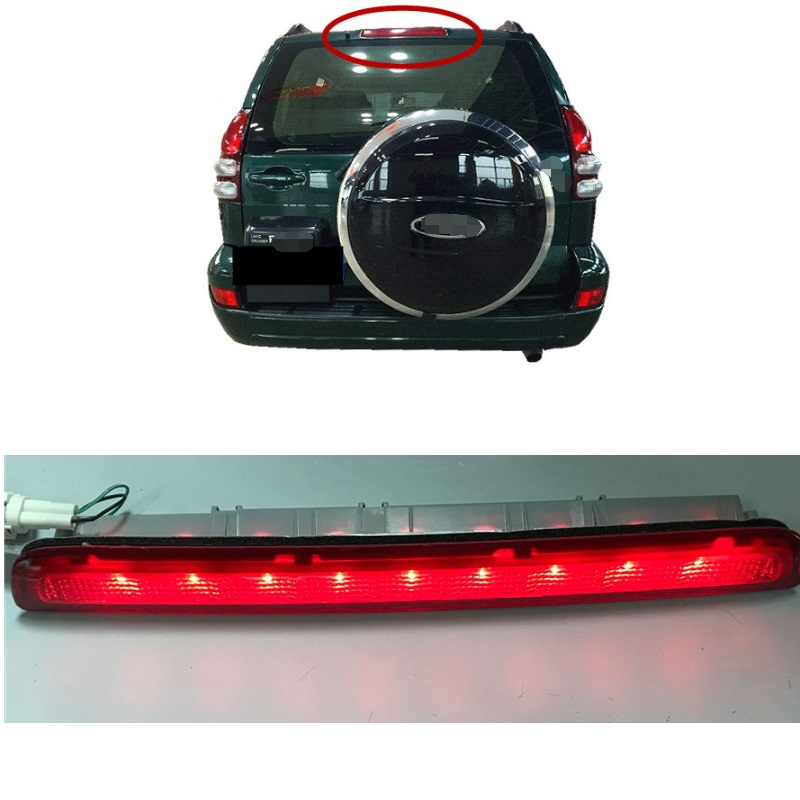EXTERIOR LED AUTO LAMPS ADDITIONAL BRAKE LIGHTS LIGHTTING FIT FOR PRADO 4000 2700 LC120 GX470 2003-2009 LED LIGHT 4X4 PARTSEXTERIOR LED AUTO LAMPS ADDITIONAL BRAKE LIGHTS LIGHTTING FIT FOR PRADO 4000 2700 LC120 GX470 2003-2009 LED LIGHT 4X4 PARTS