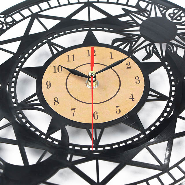 Online Shop Horloge Murale Large Vinyl Cd Record Clock 3d Wall Clock