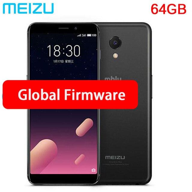 """Ban đầu Meizu M6s mblu S6 Toàn Cầu Rom Exynos 7872 Hexa Core 3 GB 64 GB 5.7 """"Màn hình 16.0MP Camera vân tay Điện Thoại ĐỊNH VỊ GPS"""