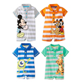 Cartoon Baby Boy Rompers Summer Newborn Infant Clothing Sets Cotton Short Sleeve Clothes Toddler Jumpsuits Baby Girl Clothes