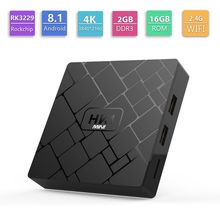 1Set HK1 MINI Android 8.1 RK3229 2GB+16GB Smart TV Box Quad