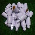 Branco Retardador PBTbombillas led g24 para e27 adaptador conversor adaptador de suporte da lâmpada e27 para g24 2pin 85-220 V