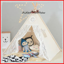 Teepee Indian Tents Children Kids Cloth Teepee