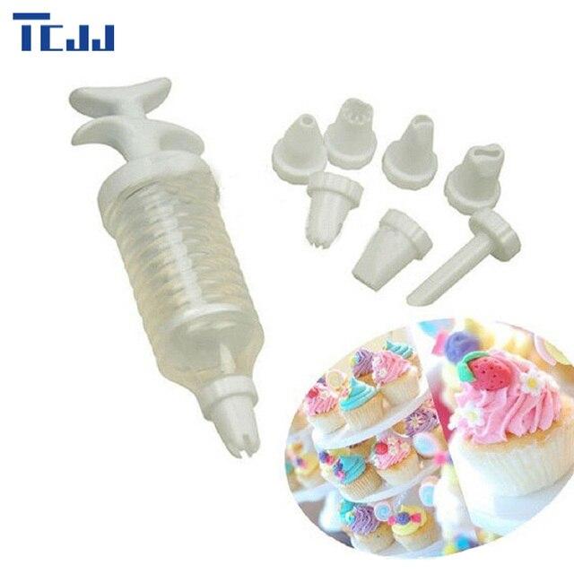 8pcs Reusable Piping Bags Icing Bag Nozzles Set Tool Dessert Decorators Cake Decorating Cream Syringe Tips