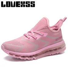 LOVEXSS Super Light Running Shoes For Women High Elastic Sport Run Athletic Shoes Woman Brand Outdoor Jogging Women's Sneakers