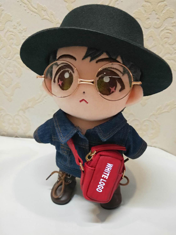 15-20cm Got7 20-25-30cm Exo 1/6 1/4 Bjd Doll Messenger Bag Shoulder Bag Stuffed Plush Doll Usage