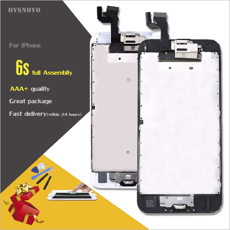 Ovsnovo 100 AAA Quality LCD Full Assembly For Iphone 6s 6s Plus Touch Glass Screen Digitizer