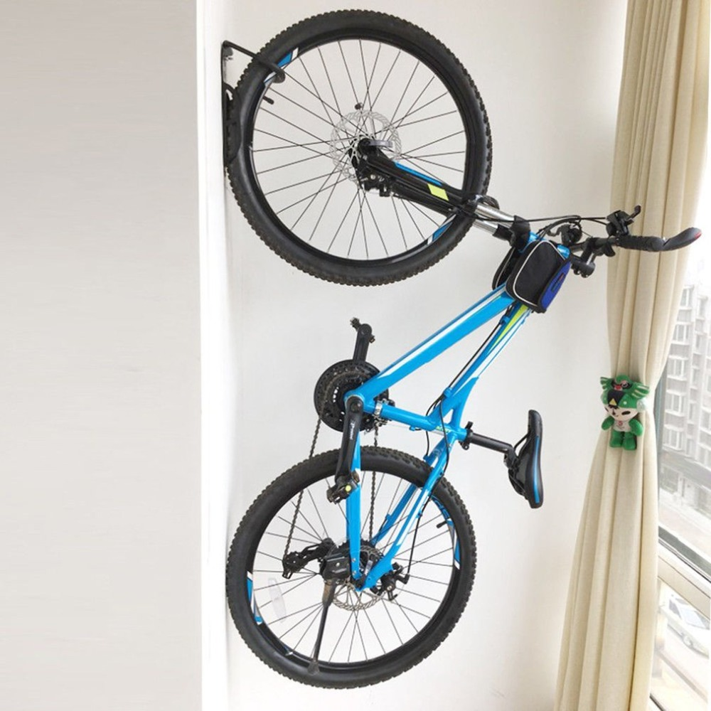 Bicycle MTB Storage Hanger Rack Stand Garage Wall Mount Bike Hook Holder Steel