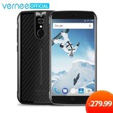 Vernee Active 6 GB RAM 128 GB ROM Étanche IP68 Mobile Téléphone 5.5 pouce FHD Helio P25 Octa base Android 7.0 En Plein Air téléphone portable