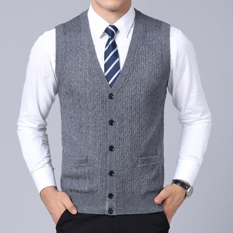2019 Neue Mode Marke Pullover Männer Strickjacke Ärmel Slim Fit Jumper Strickwaren Warme Winter Koreanische Beiläufige Mens Kleidung