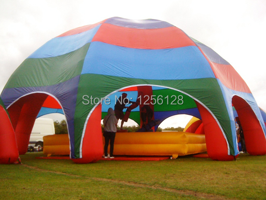 10m Diameter  Multi-color  Dome Inflatable Gazebo Tent  For Shelther 6 5ft diameter inflatable beach ball helium balloon for advertisement