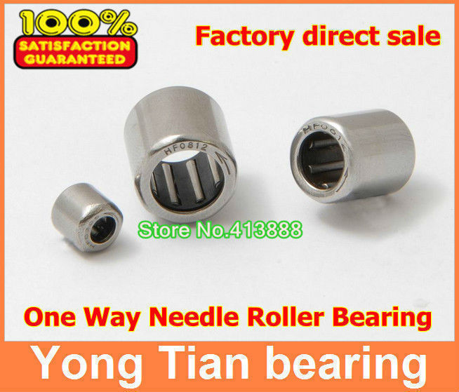2 PCS HF1616 16x22x16mm One Way Clutch Needle Roller Bearing Bearings