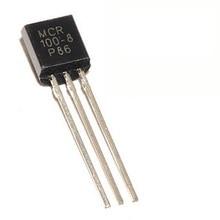 MCIGICM 100 шт MCR100-8 600V 800mA кремниевый управляемый переключательный Диод тиристорный TO-92