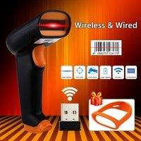 NTEUMM S2 Wireless 1200mAh Barcode Scanner Bar Code Reader 2 4G 50m Laser Barcode Scanner Wireless