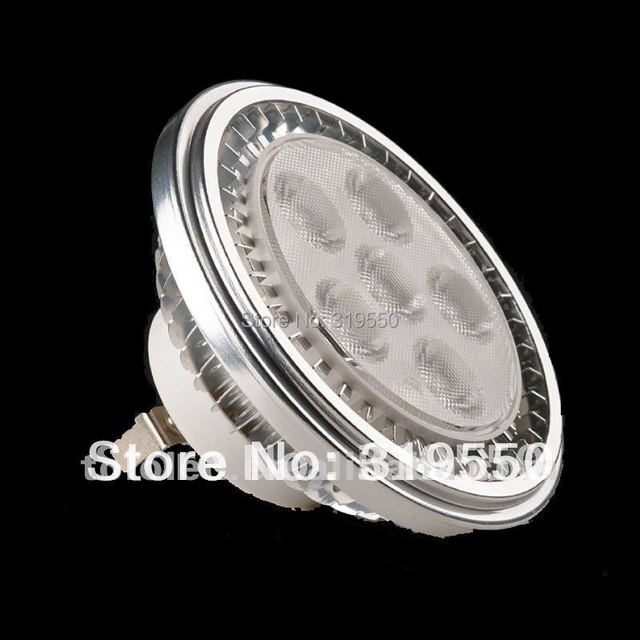 Free Shipping 2PCS/LOT 12W GX8.5 720LM AR111 LED PAR Lamp  Replacement incandescent lamps