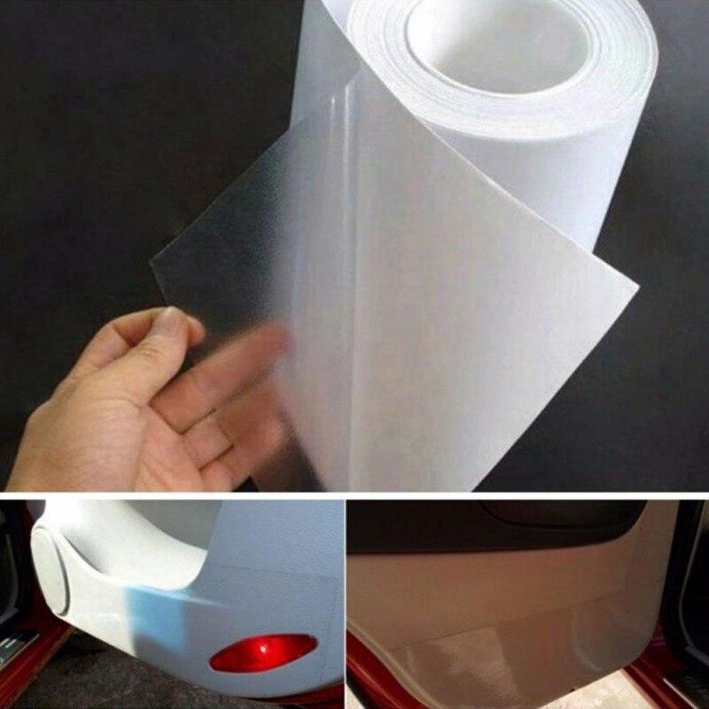 Автомобильная защитная пленка, автомобильная защитная пленка из ПВХ, наклейка для защиты краски от царапин, прозрачная пленка