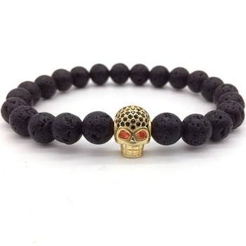 Lava Beads Stone Bracelet19