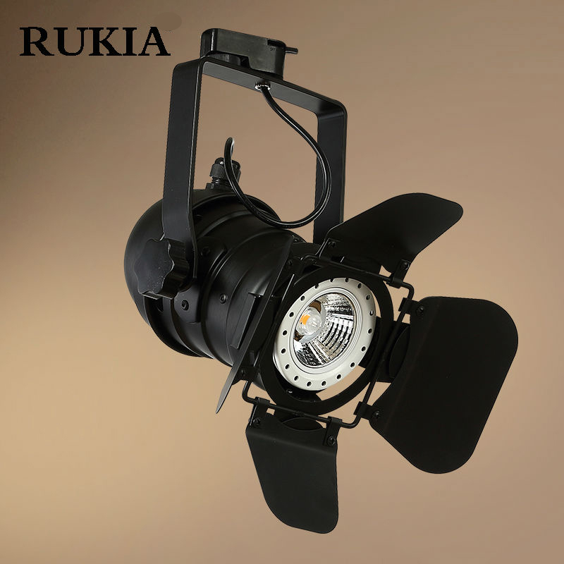rukia retro loft stretchable ceiling light adjustable living clothing shop spotlight industrial. Black Bedroom Furniture Sets. Home Design Ideas