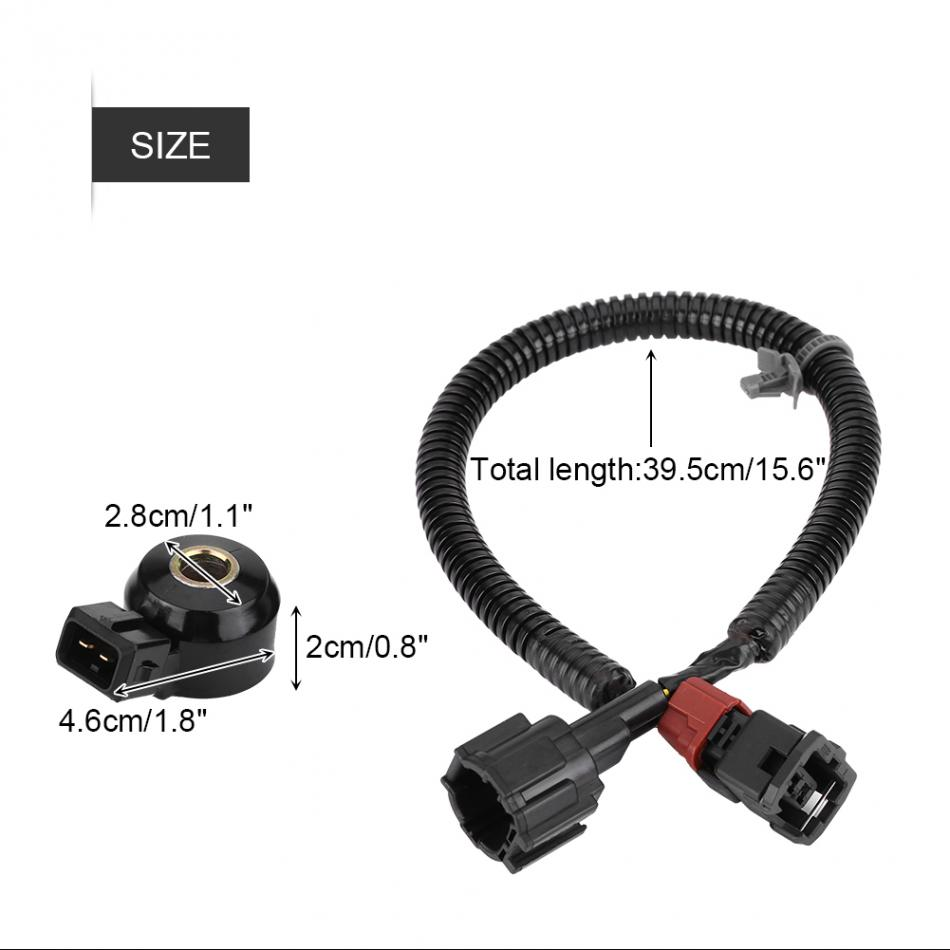 Great aftermarket Car Knock Sensor & Wiring Harness for Infiniti Nissan Car-styling 22060-30P00/24079-31U01