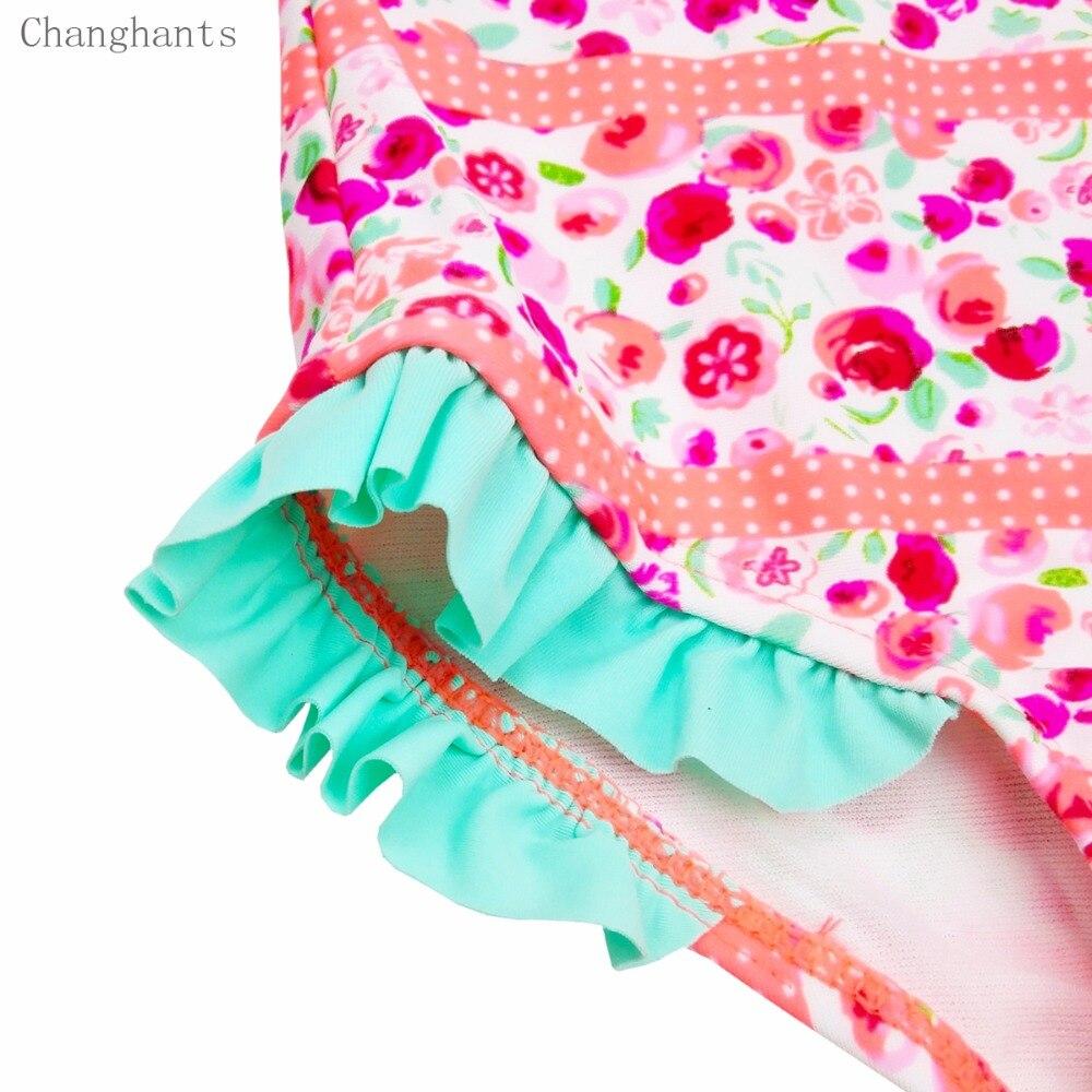 Երեխաներ լողազգեստներ 2-6Y վարդագույն - Սպորտային հագուստ և աքսեսուարներ - Լուսանկար 3