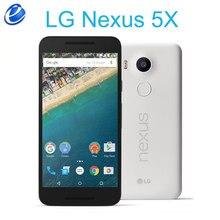 LG Nexus 5X H791 odblokowany 5.2 Cal LTE 4G rdzeniowy Hexa 2 GB pamięci RAM, 16/32 GB ROM 13.0 MP aparat 1080 P z androidem 6.0 oryginalny smartfon