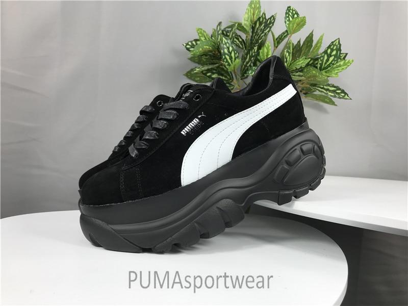 c21e255c4854 Original PUMA X BUFFALO LONDON SUEDE Women s Sneakers Badminton Shoes Size  35-39