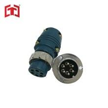 7 pin 9 pin разъем и разъем управления провода разъем сварочные аксессуары