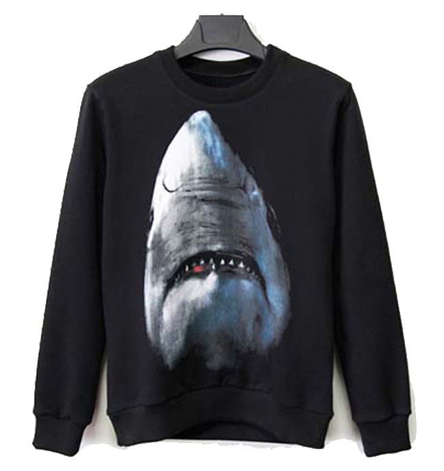Autumn winter clothing trend new animal print Sweatshirts O neck fleece long men women lovers wear