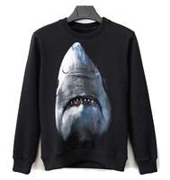 Autumn winter clothing trend new animal print Sweatshirts O neck fleece long men women lovers wear round neck jacket